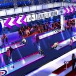 Curling en Lumière : a futuristic and creative version of an iconic sport