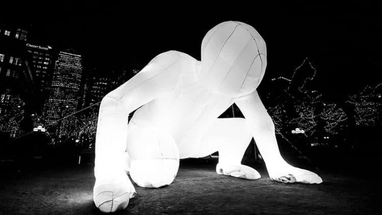 Fantastic Planet - Illuminart - Montréal en Lumière 2017