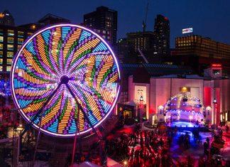 Grande roue - Montréal en Lumière