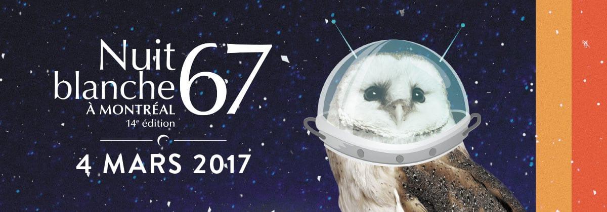 Nuit Blanche 2017 - Montréal en Lumière
