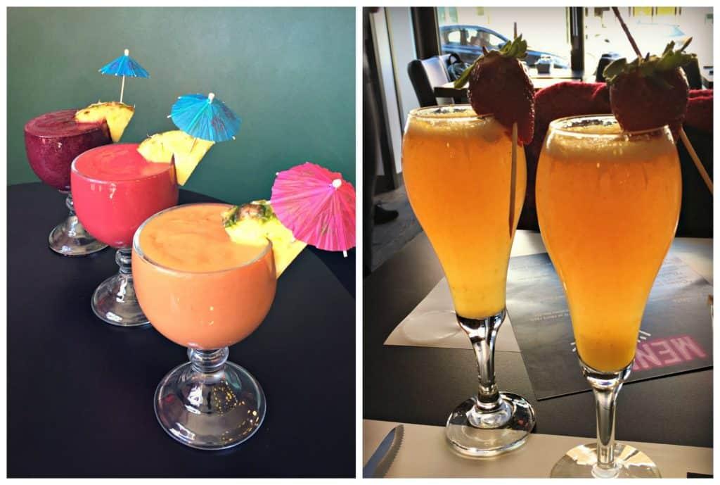 Mimosas et cocktails - restaurant L'Avenue