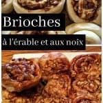 Brioches érables et noix