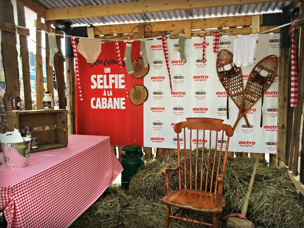Photo a la cabane à sucre Panache et Bois Rond