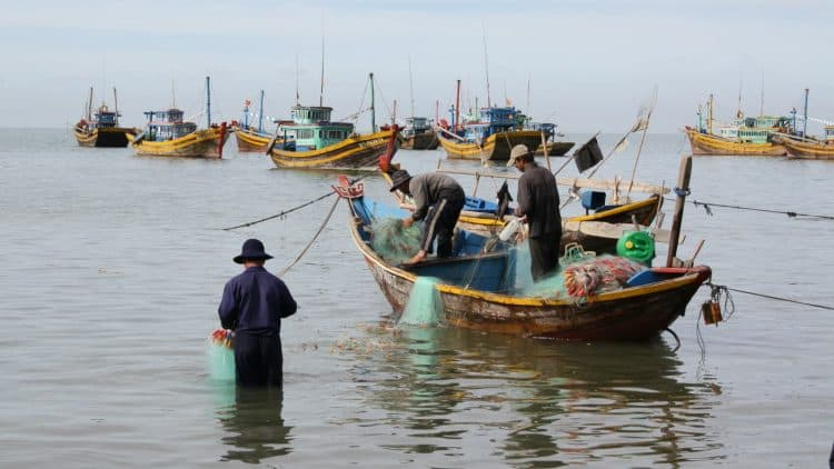 Vietnam - pêcheurs