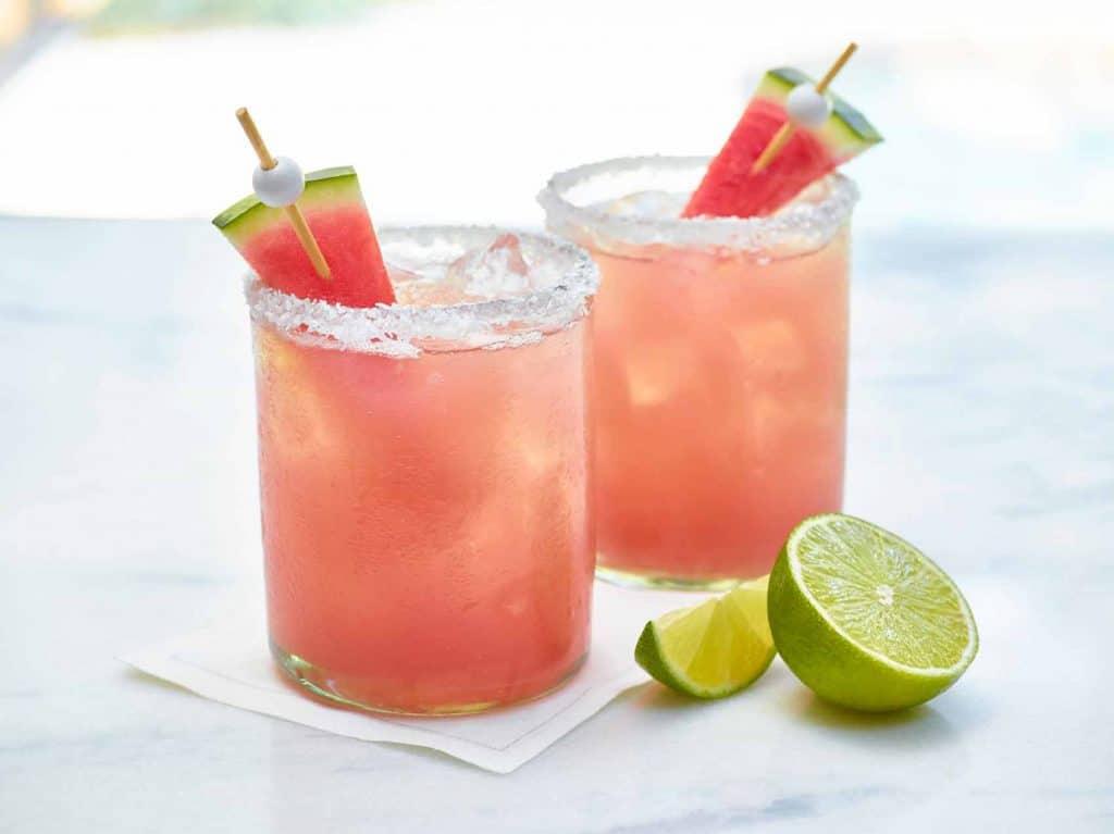 Margarita au melon d'eau