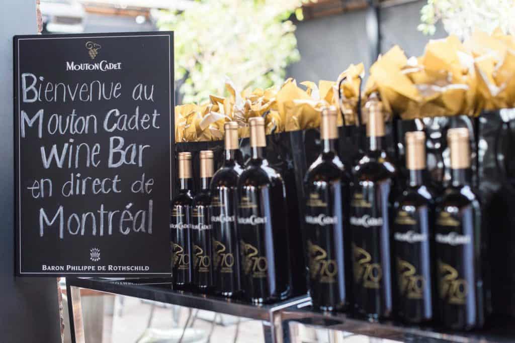 Mouton Cadet Wine Bar à Montréal