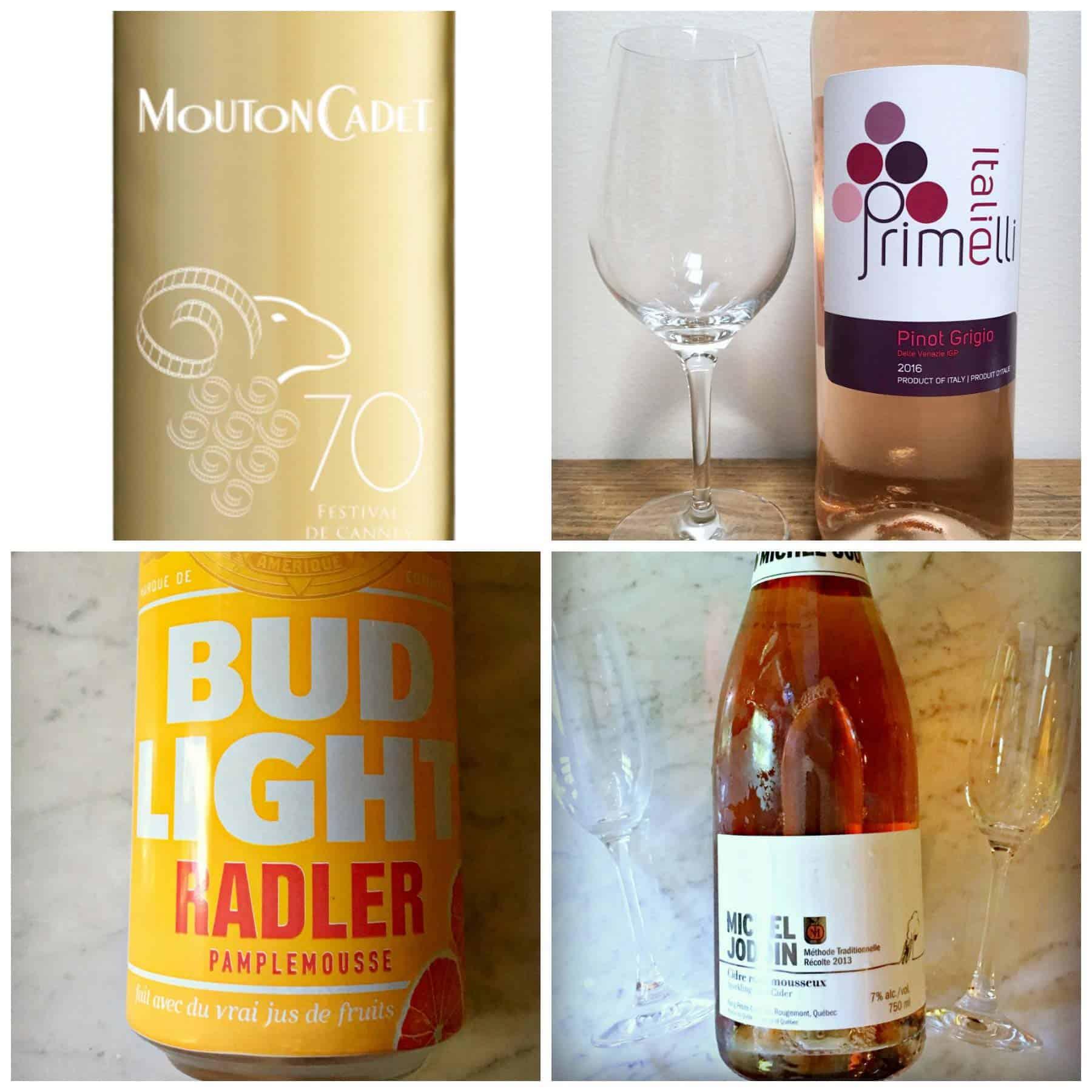 De la bière et des vins pour l'arrivée de l'été