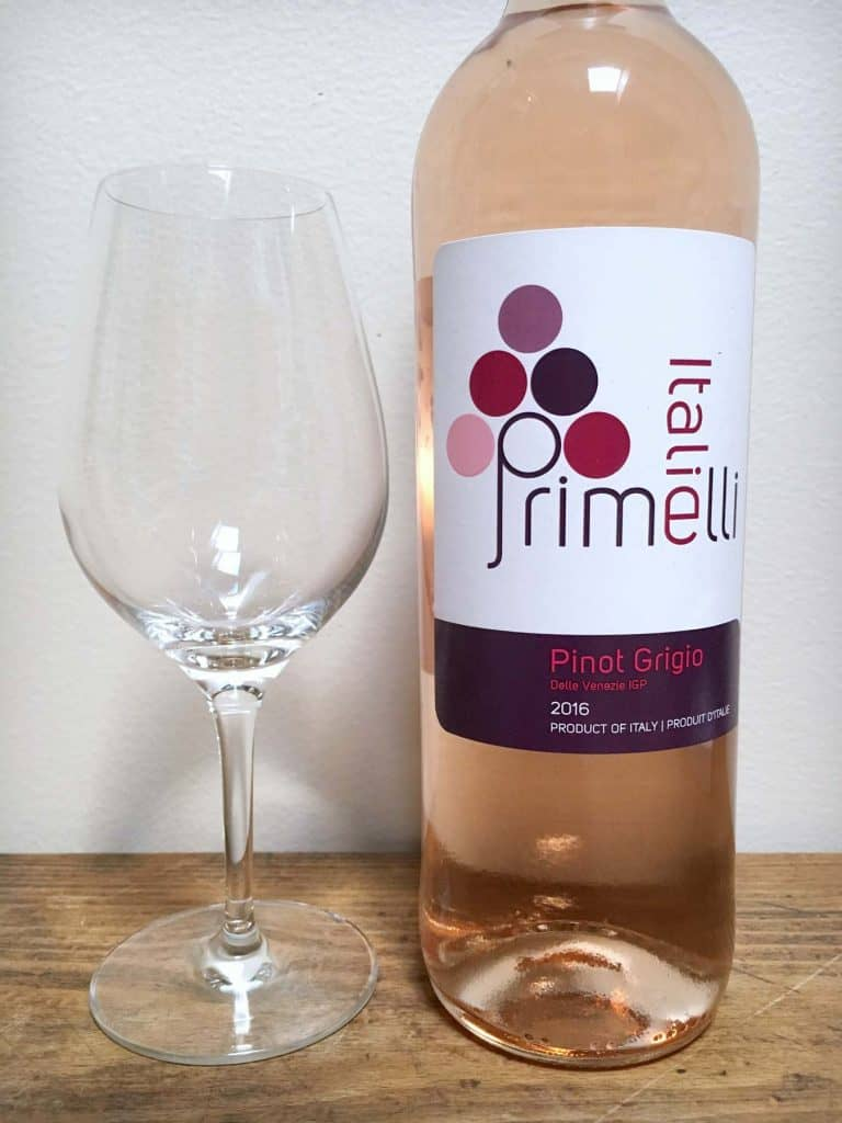 Primelli Pinot Grigio - Vin rosé