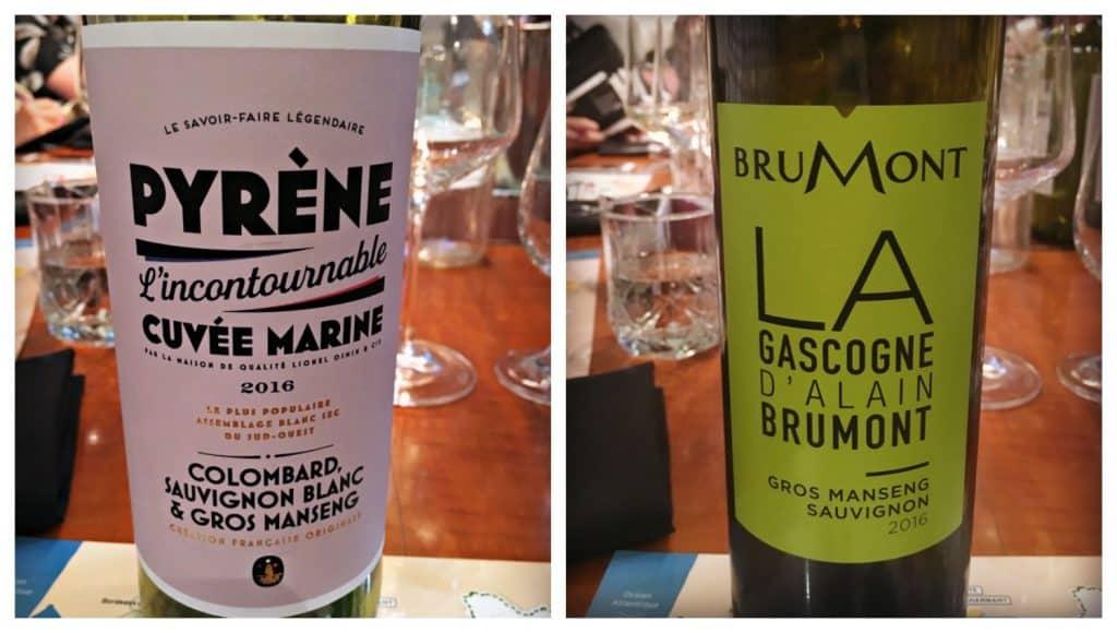 Pyrène et Brumont, 2 vins dégustés lors de la soirée des vins du Sud-Ouest - Ateliers et Saveurs