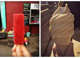 Crèmes glacées : Le Petit Dep, Pops Art, Quai des Glaces, Juliette et Chocolat