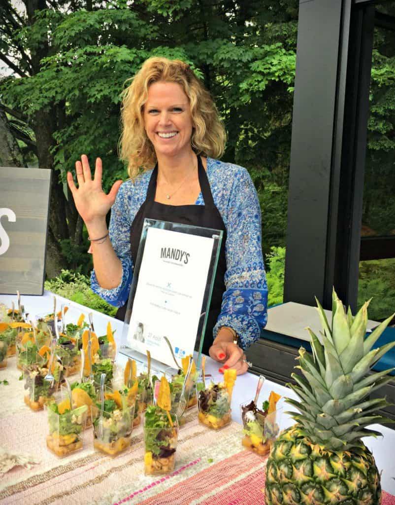 Mandy Wolfe - L'été des Chefs - Spa Balnéa