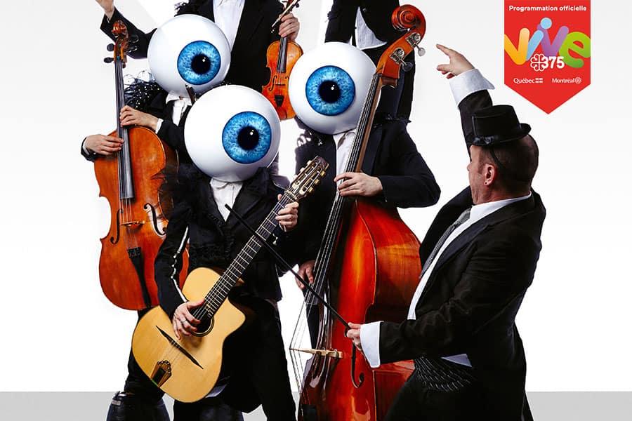 Le Quintette à vue - Bouffons MTL