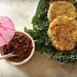 Le résultat du défi culinaire 2017 : Croquettes de saumon et salsa aigre-douce à l'ananas et au thé vert