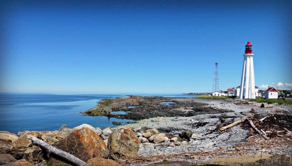 Station de phare - Site maritime de Pointe au père - Rimouski - Québec