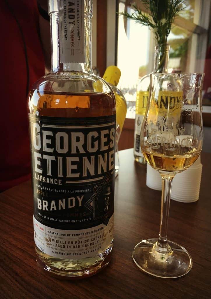 Le Georges Étienne - brandy - Domaine Lafrance