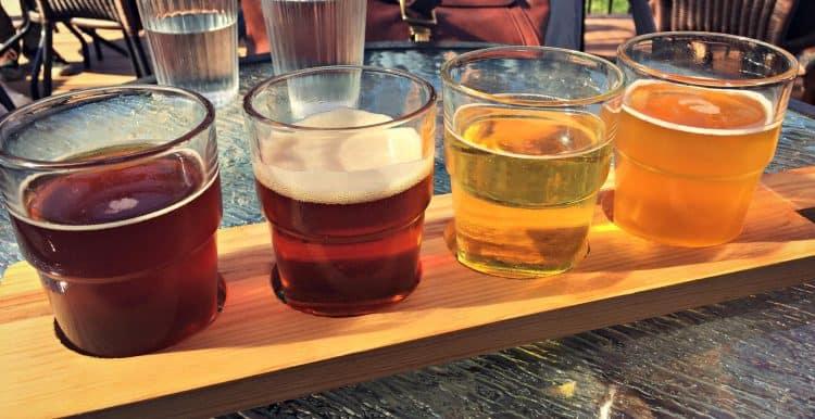 Bières de la microbrasserie - Vignoble Les Vents d'Ange