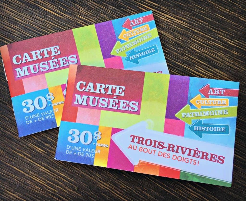 La carte des musées - Trois-Rivières