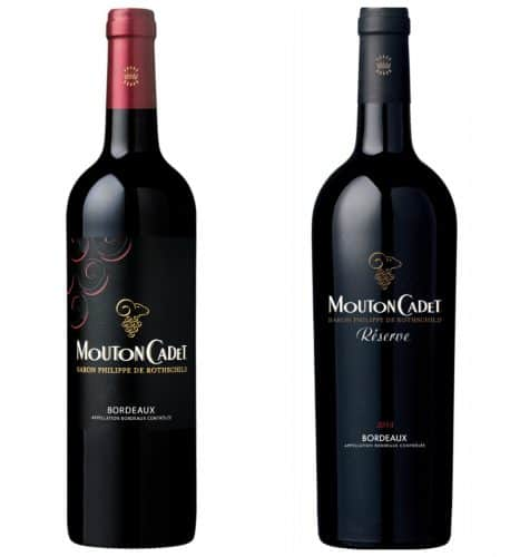 Mouton Cadet - vins rouges