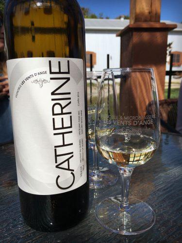 Vin blanc Catherine - Vignoble Les Vents d'Ange