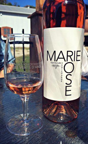 Vin rosé Marie-Rose - Vignoble Les Vents d'Ange