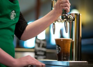 Café azoté infusé à froid - Starbucks