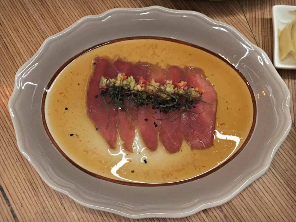 Sashimi de thon - Le Blossom