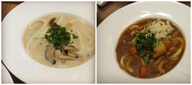Bols de udon aux champignons et au curry - Le Blossom