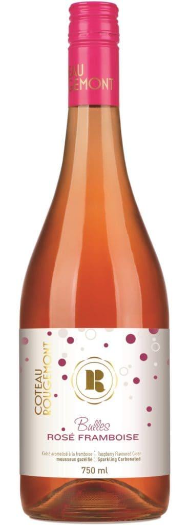 Bulles Rosé Framboise - Coteau Rougemont