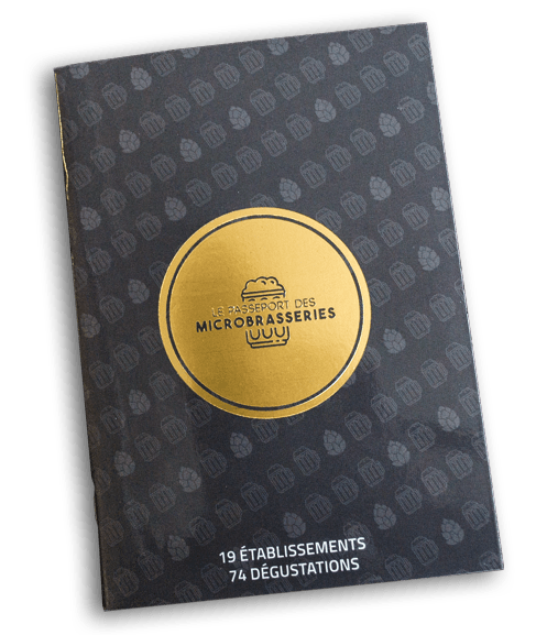 Passeport des Microbrasseries - Guide cadeau gourmand