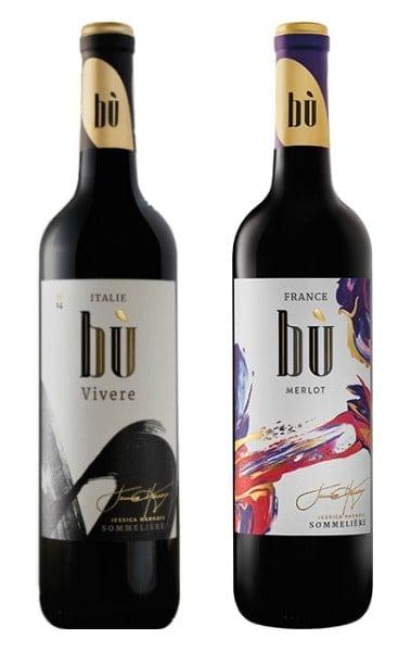 Les vins Bu de Jessica harnois, vendus en épicerie