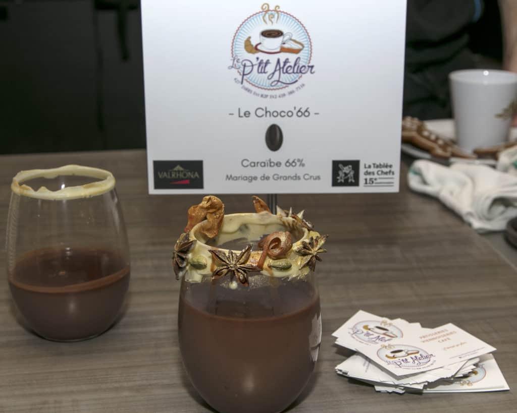 Le choco'66 du P'tit Atelier - La Grande Tournée du Chocolat Chaud 2018