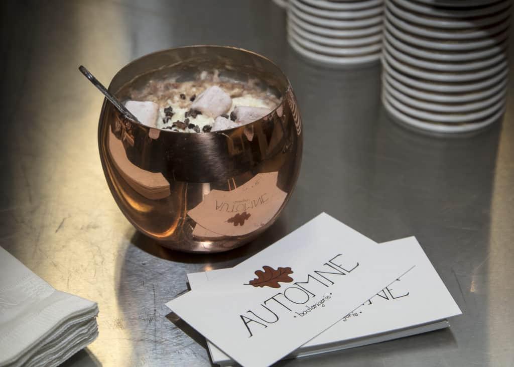 Chocolat chaud - Automne Boulangerie - La Grande Tournée du Chocolat Chaud 2018