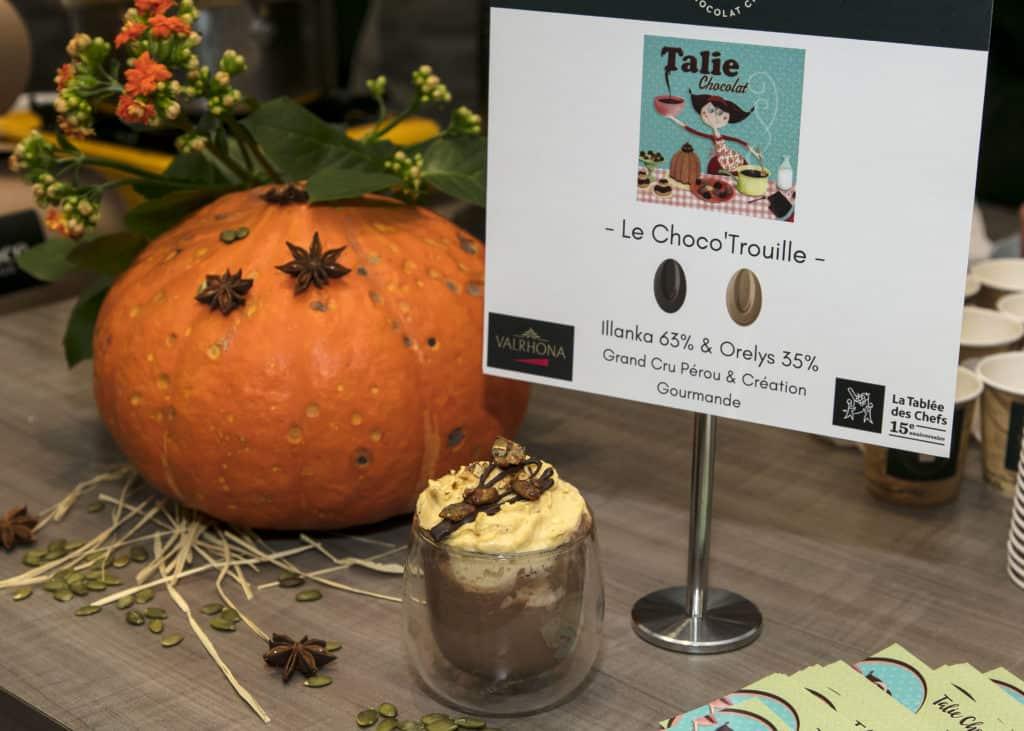 Le Choco'Trouille de Talie Chocolat - La Grande Tournée du Chocolat Chaud 2018