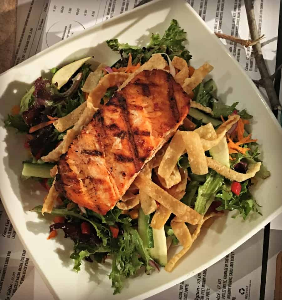Salade de saumon - Taboo Cuisine Rebelle