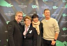 4 des finalistes dans la catégorie Lauriers du public : Christian Bégin, Soeur Angèle, Josée di Stasio et Ricardo Larivée - Lauriers de la gastronomie québécoise