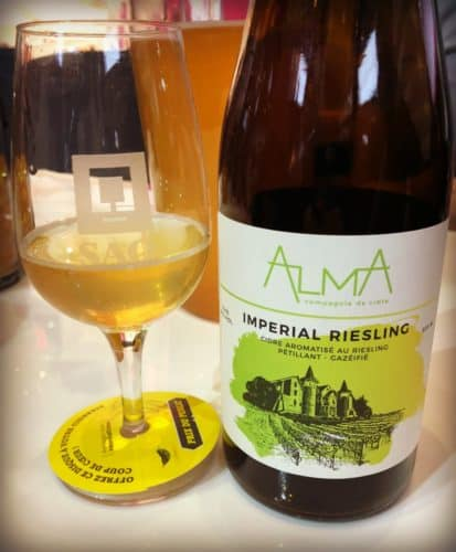 Imperial Riesling - Alma  - Mondial des Cidres 2018