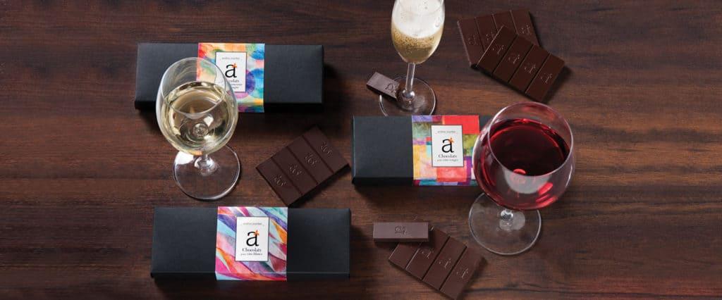 Accords chocolat - vin avec Andrea Jourdan pour savourer le chocolat autrement