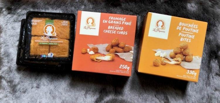Bouchées de poutine, fromage en grains panés - LA Paysanne