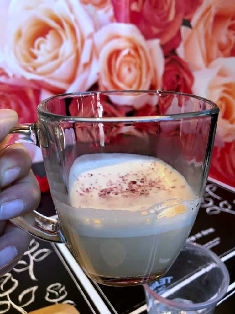 Thé Latte Teavana - Starbucks