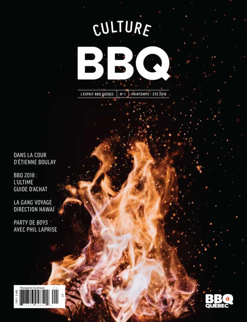 Couverture du magazine Culture BBQ - par BBQ Québec