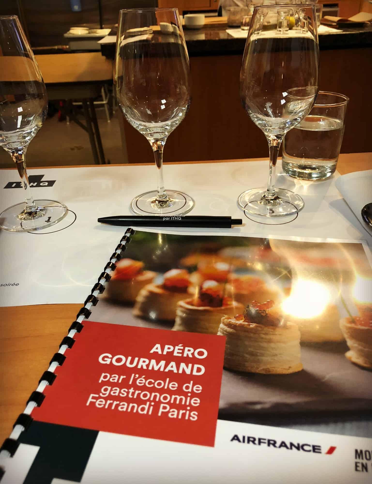 Les Ateliers de l'ITHQ - Apéro gourmand