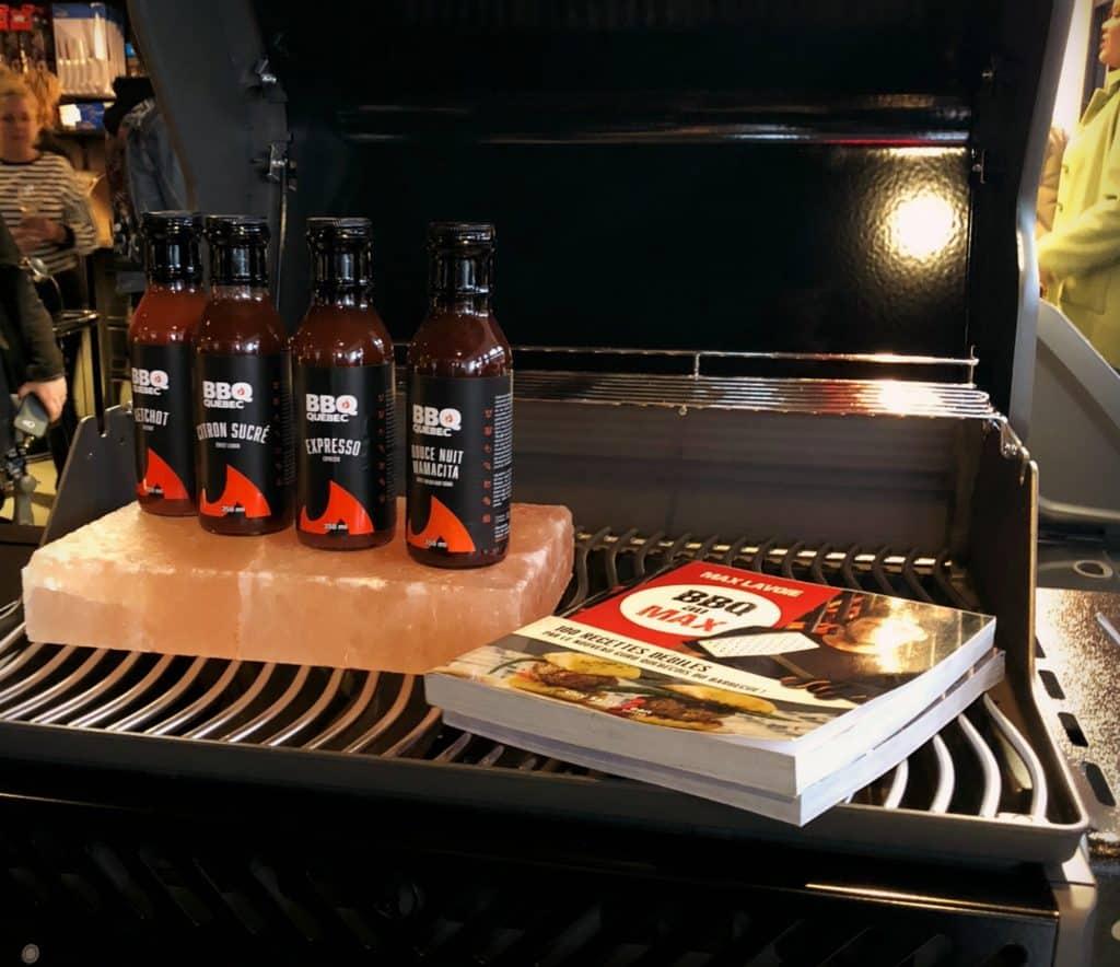 Nouvelles sauces et livre de recettes de BBQ Québec