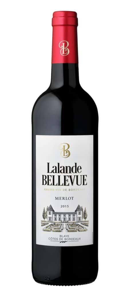 Bouteille de vin Lalande Bellevue
