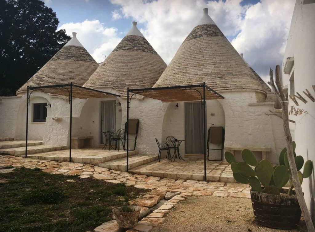 Les chambres de Masseria Aprile à Locorotondo - les Pouilles - Italie | Guide de voyage : 5 jours dans les Pouilles, quoi voir et quoi faire