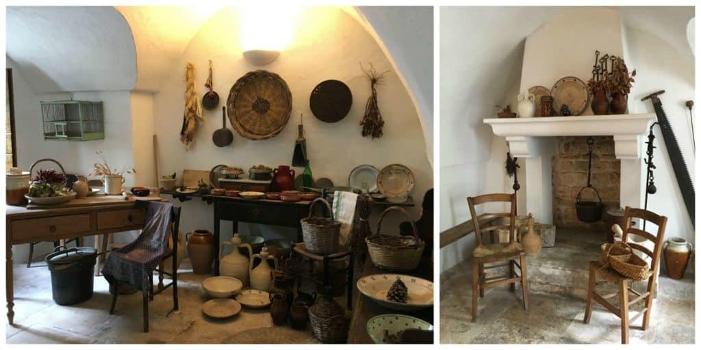 Intérieur d'un trullo à Alberobello - Pouilles - Italie | Guide de voyage - 5 jours dans les Pouilles, quoi voir et quoi faire