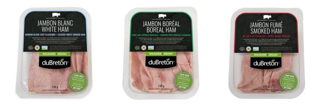 Nouvelles saveurs de jambon duBreton