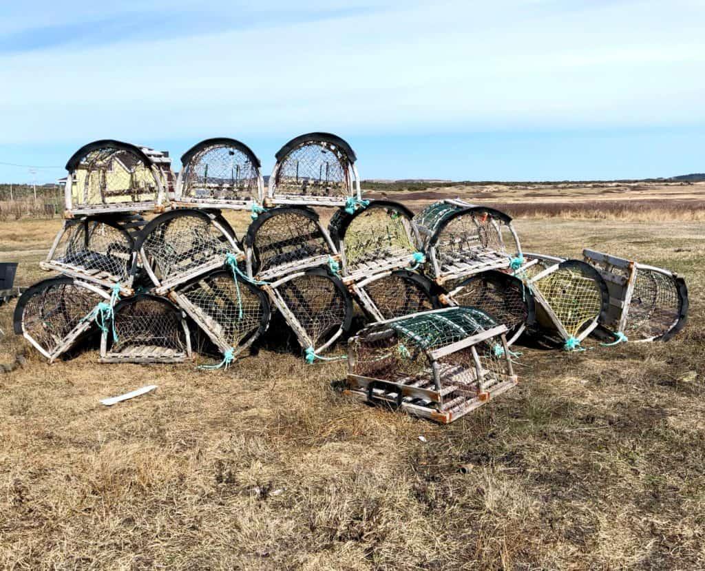 Des cages à homard - La pêche aux homards aux Iles de la Madeleine : de l'océan à notre assiette
