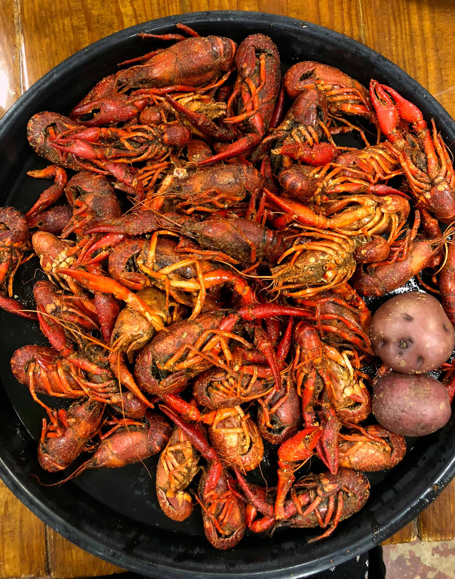 3 lb d'écrevisses vapeur - Spécialités culinaires de la Louisiane