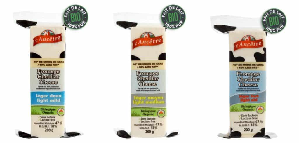 Fromages cheddar léger de la fromagerie l'Ancêtre - Bouffe : 7 produits pour vos prochains pique-niques, lunchs et barbecues