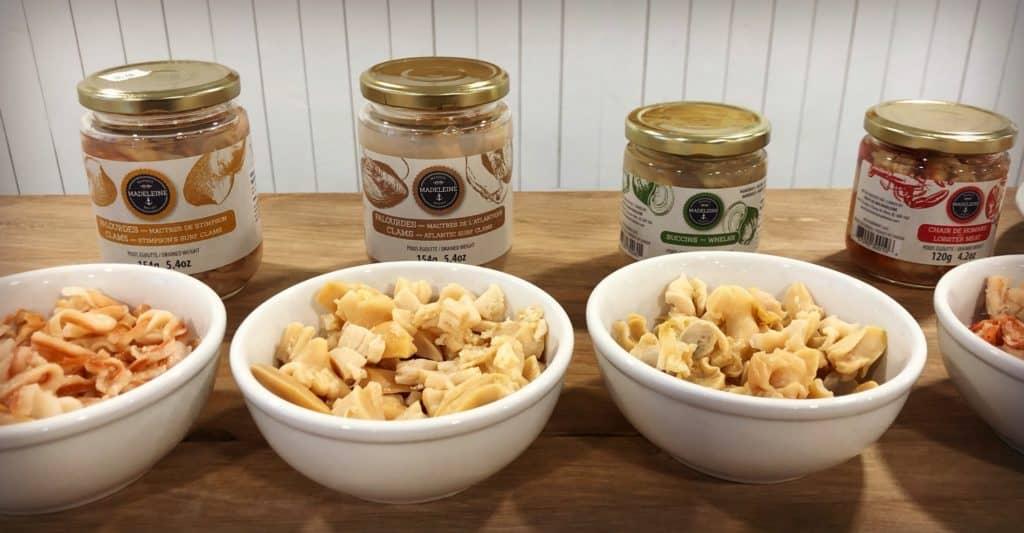 Produits de la Poissonnerie Fruits de mer Madeleine - Où manger aux Iles de la Madeleine